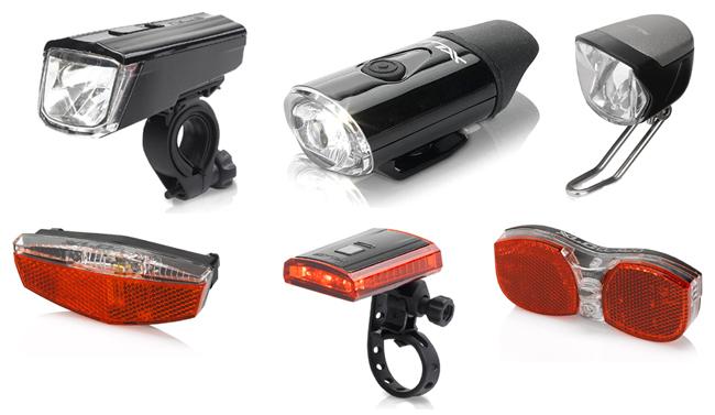 XLC kerékpár lámpák
