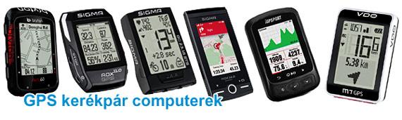 GPS kerékpár computer
