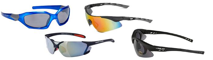 Kerékpáros szemüvegek