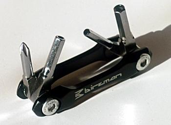 Birzman 4 funkciós kerékpáros szerszámkészlet