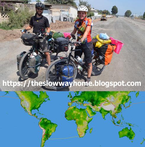 Világjáró kerékpár túra